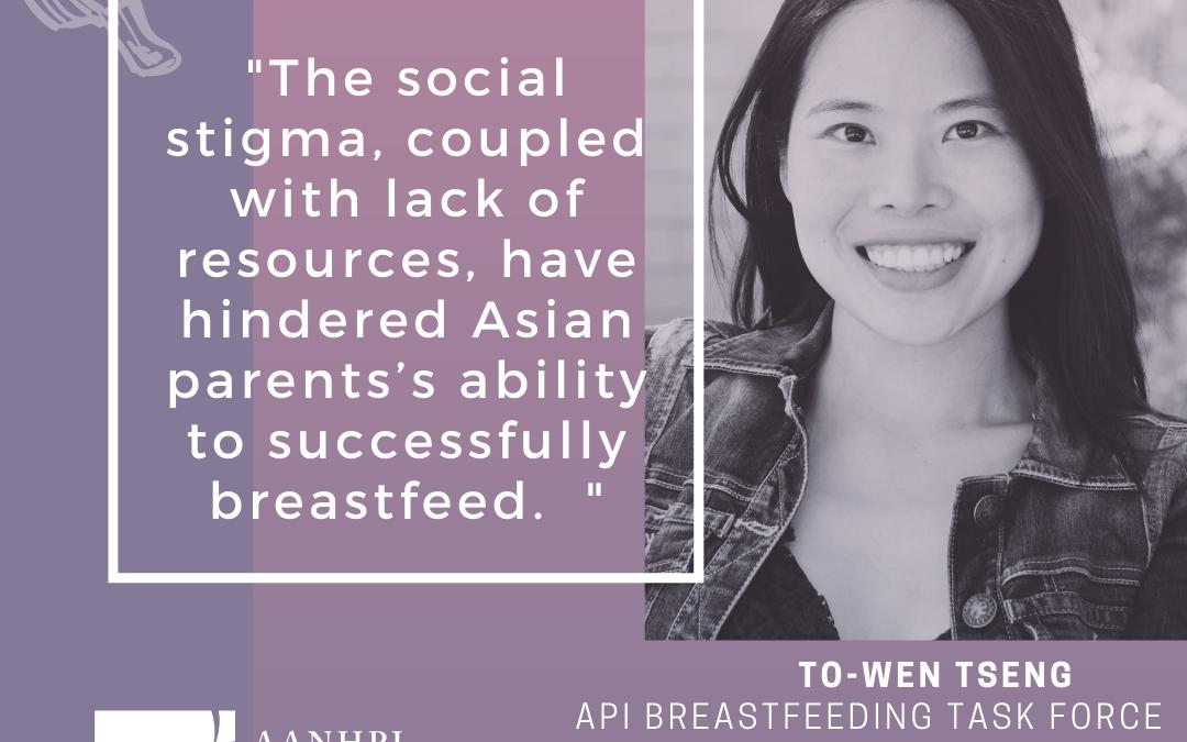 The Birth of the Asian and Pacific Islander Breastfeeding TaskForce
