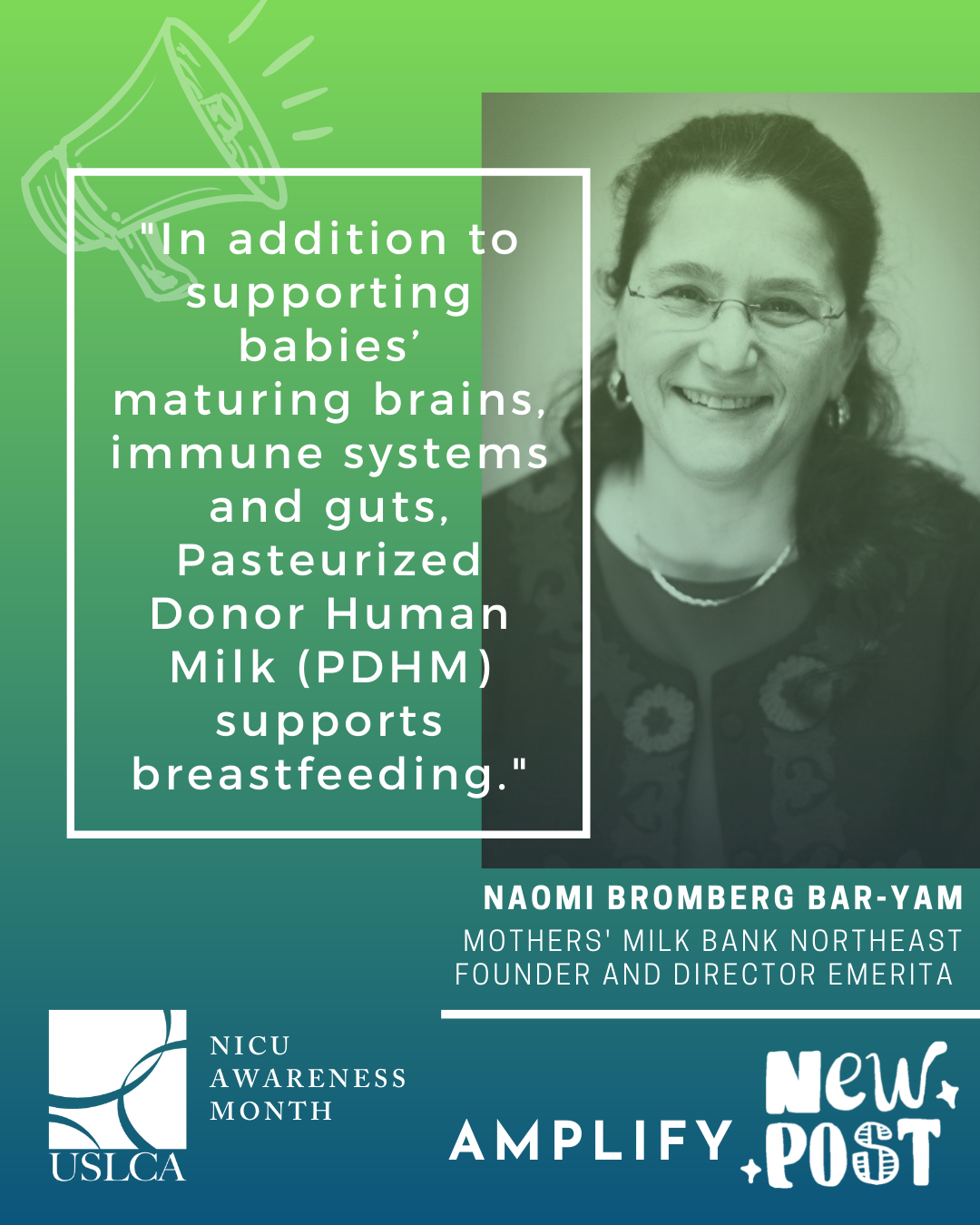 NICUs, donor milk and breastfeeding: Why Your Support Matters